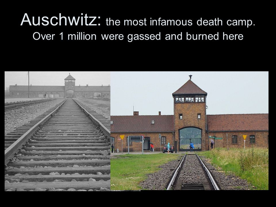 Auschwitz: the most infamous death camp