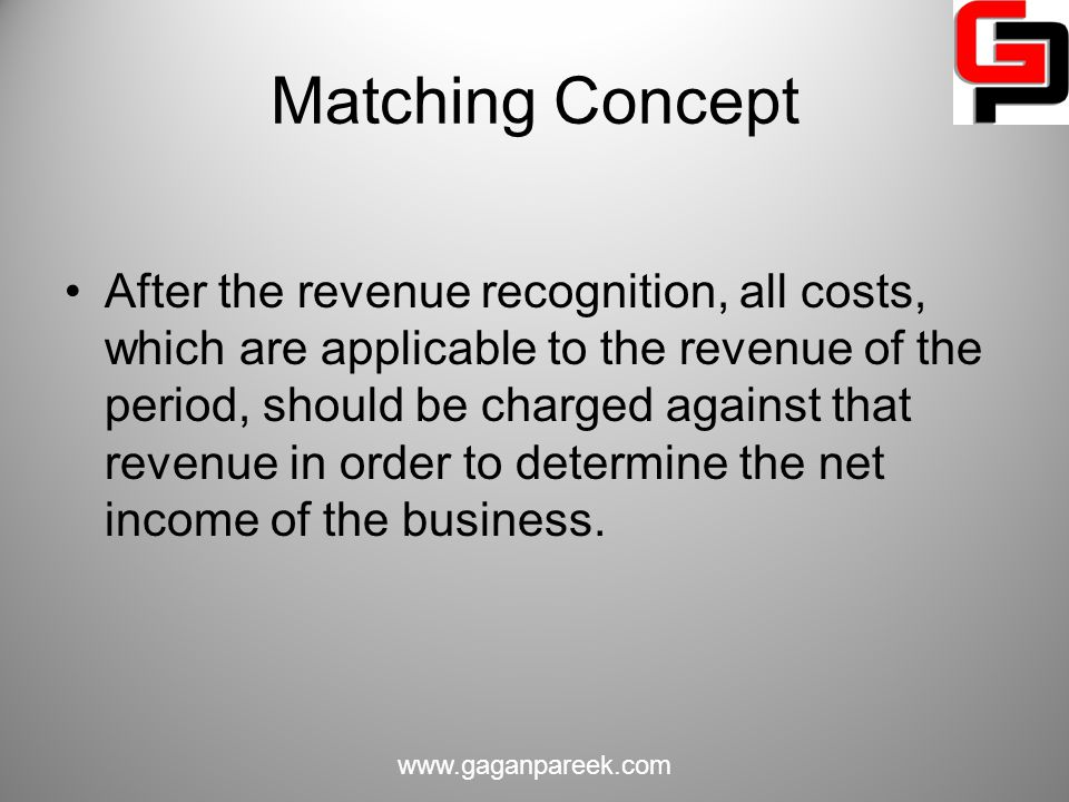 Matching Concept