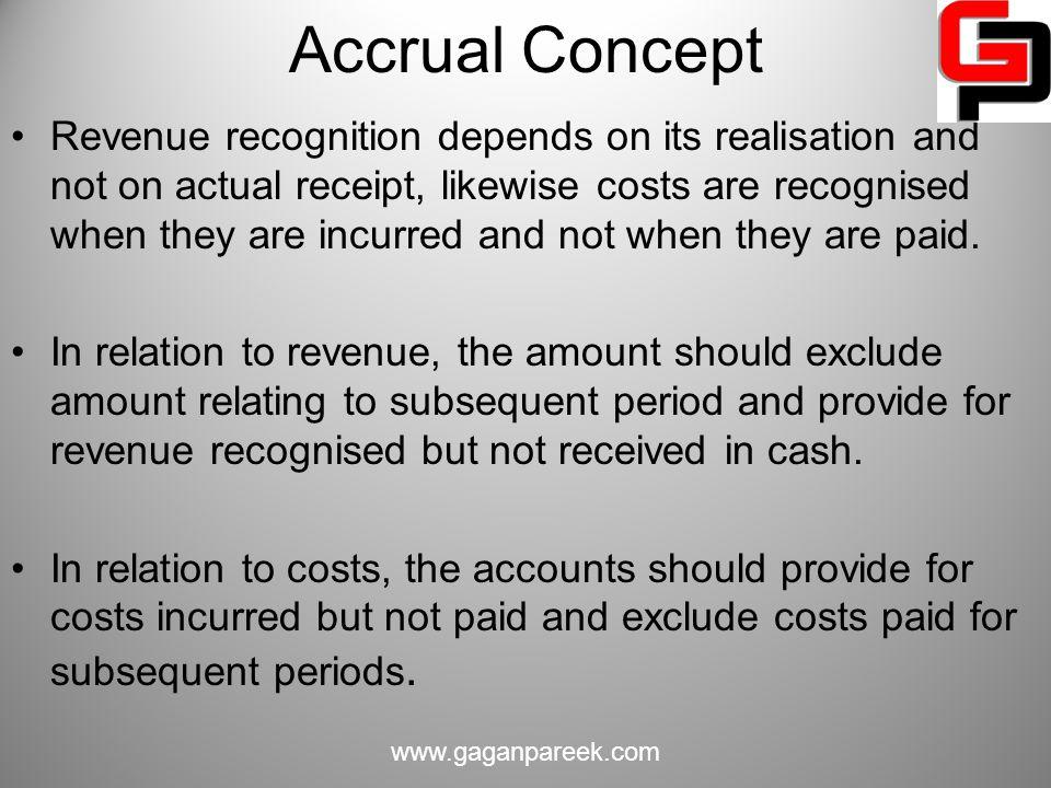 Accrual Concept