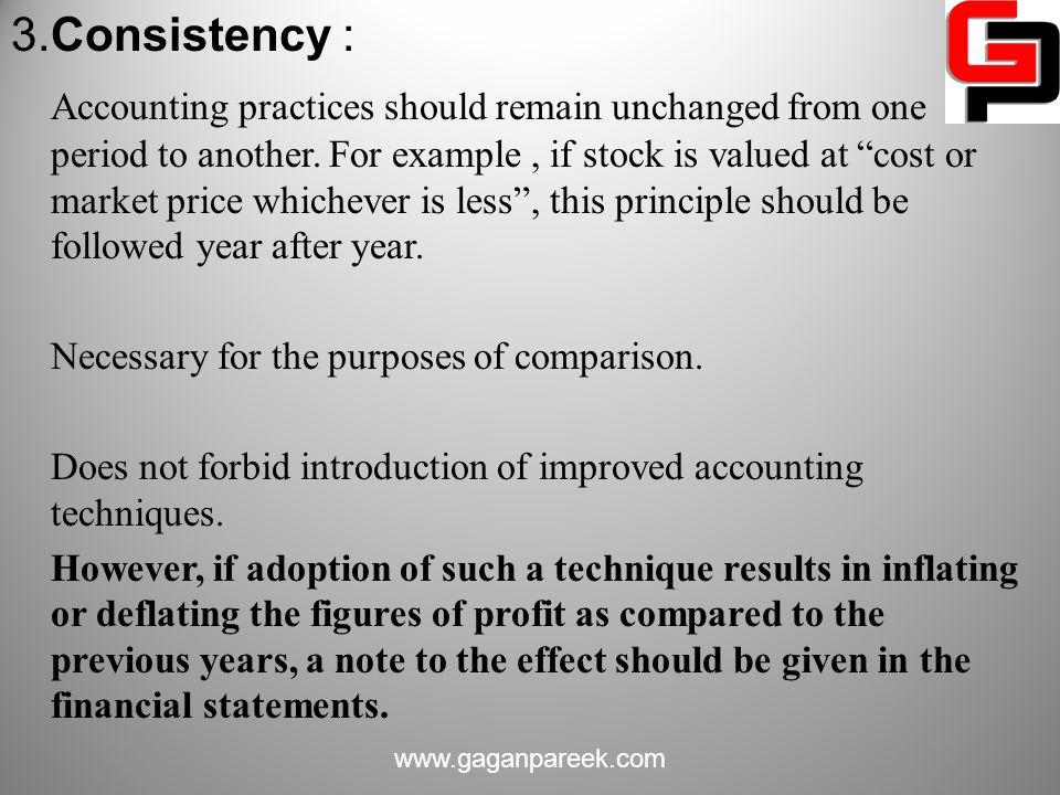 3.Consistency :