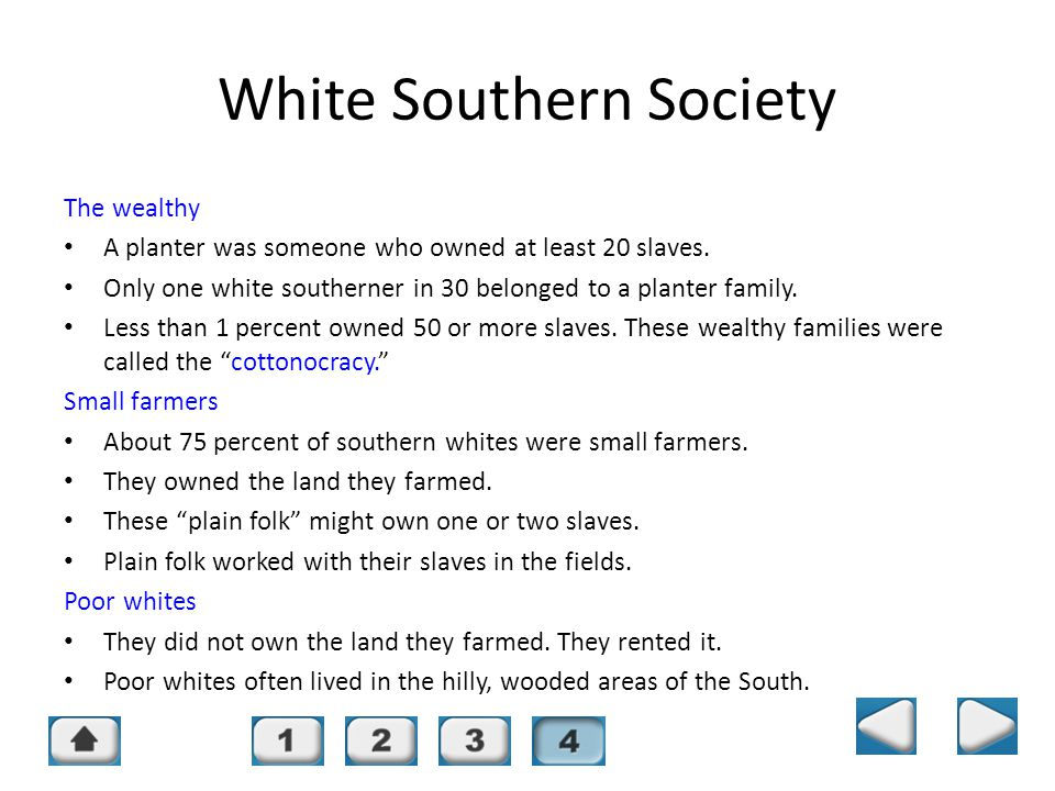 White Southern Society