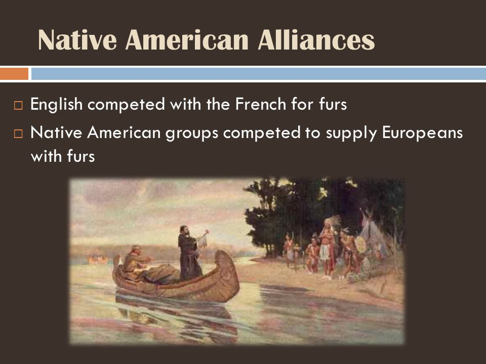 Native American Alliances