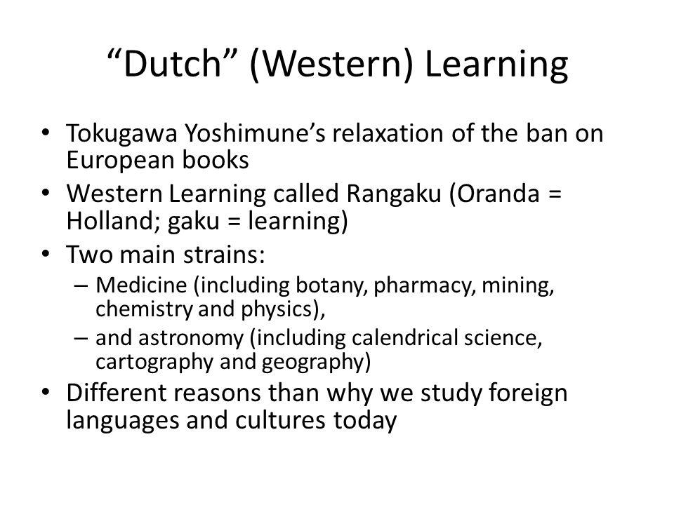 Dutch (Western) Learning