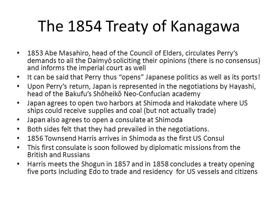 The 1854 Treaty of Kanagawa