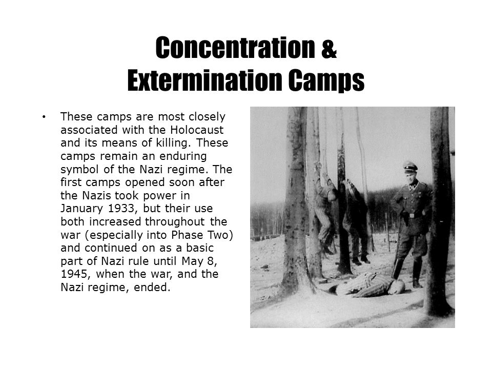 Concentration & Extermination Camps