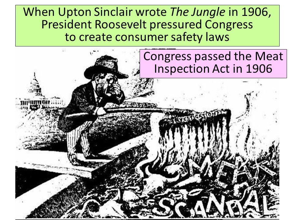 Congress passed the Meat Inspection Act in 1906