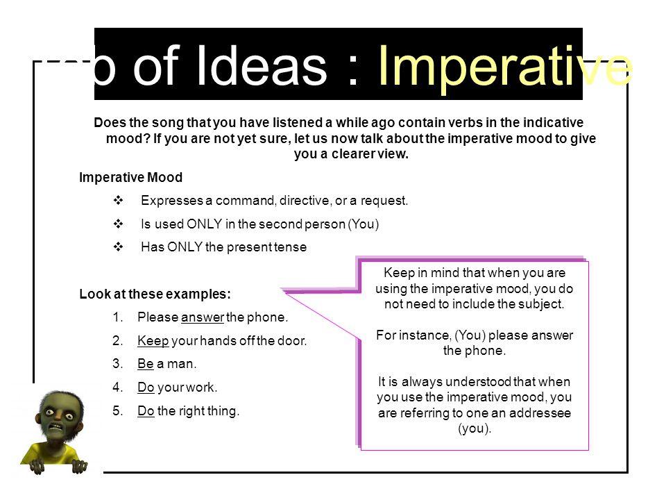 Tab of Ideas : Imperative