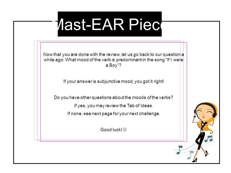 Mast-EAR Piece
