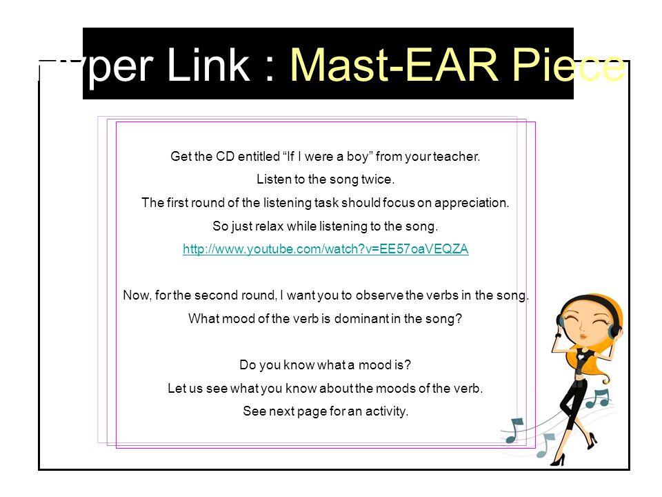 Hyper Link : Mast-EAR Piece