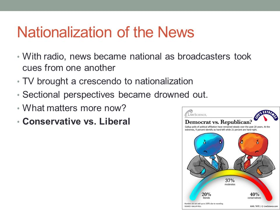 Nationalization of the News
