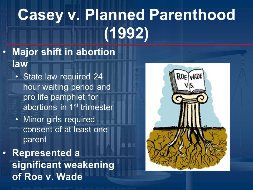 Casey v. Planned Parenthood (1992)