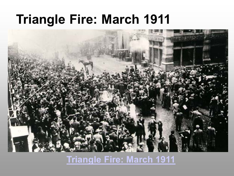 Triangle Fire: March 1911 Triangle Fire: March 1911