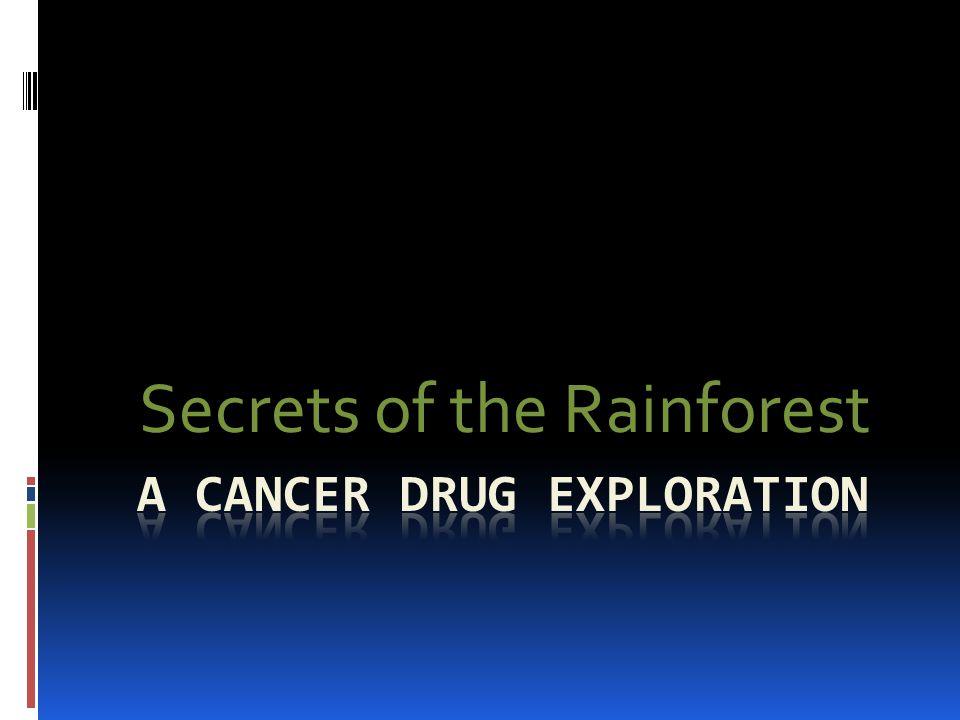 A cancer drug exploration