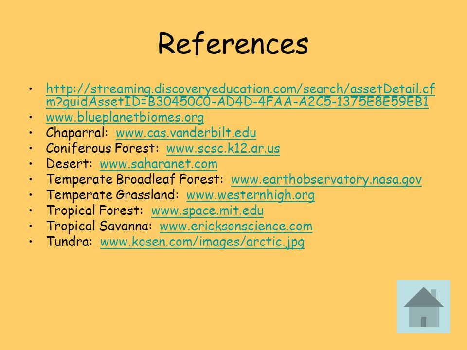 References http://streaming.discoveryeducation.com/search/assetDetail.cfm guidAssetID=B30450C0-AD4D-4FAA-A2C5-1375E8E59EB1.