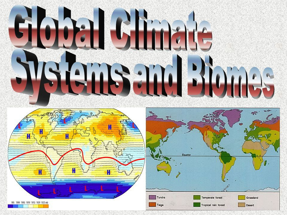 Global Climate Systems and Biomes