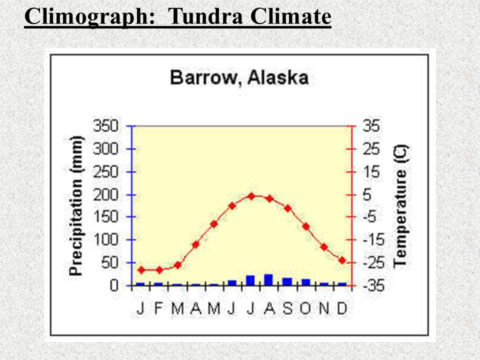 Climograph: Tundra Climate