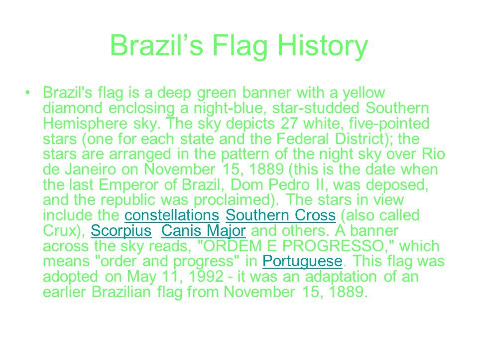 Brazil's Flag History