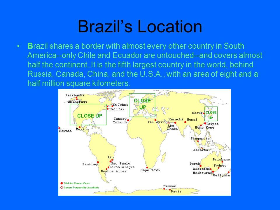 Brazil's Location