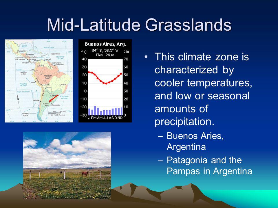 Mid-Latitude Grasslands