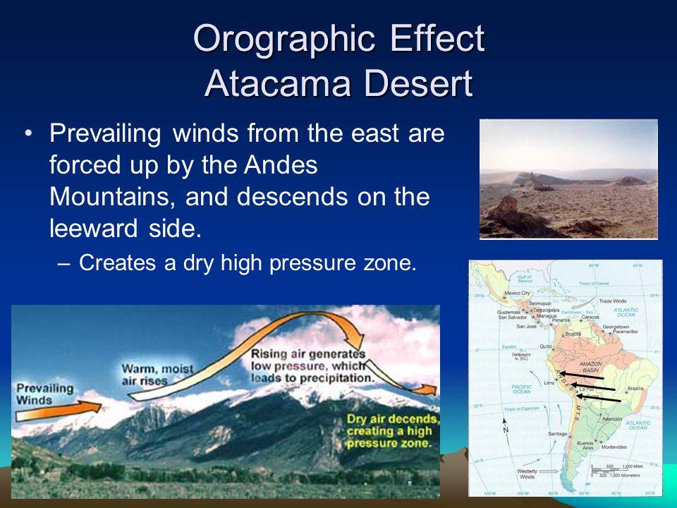 Orographic Effect Atacama Desert