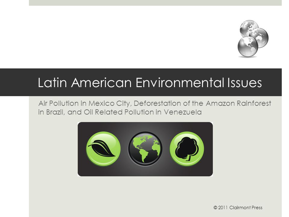 Latin American Environmental Issues