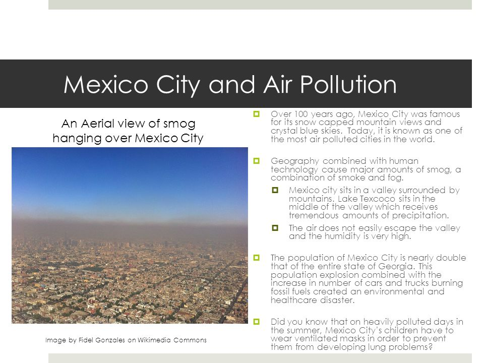 Mexico City and Air Pollution