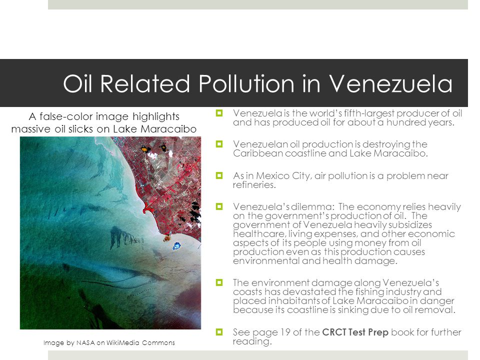 Oil Related Pollution in Venezuela
