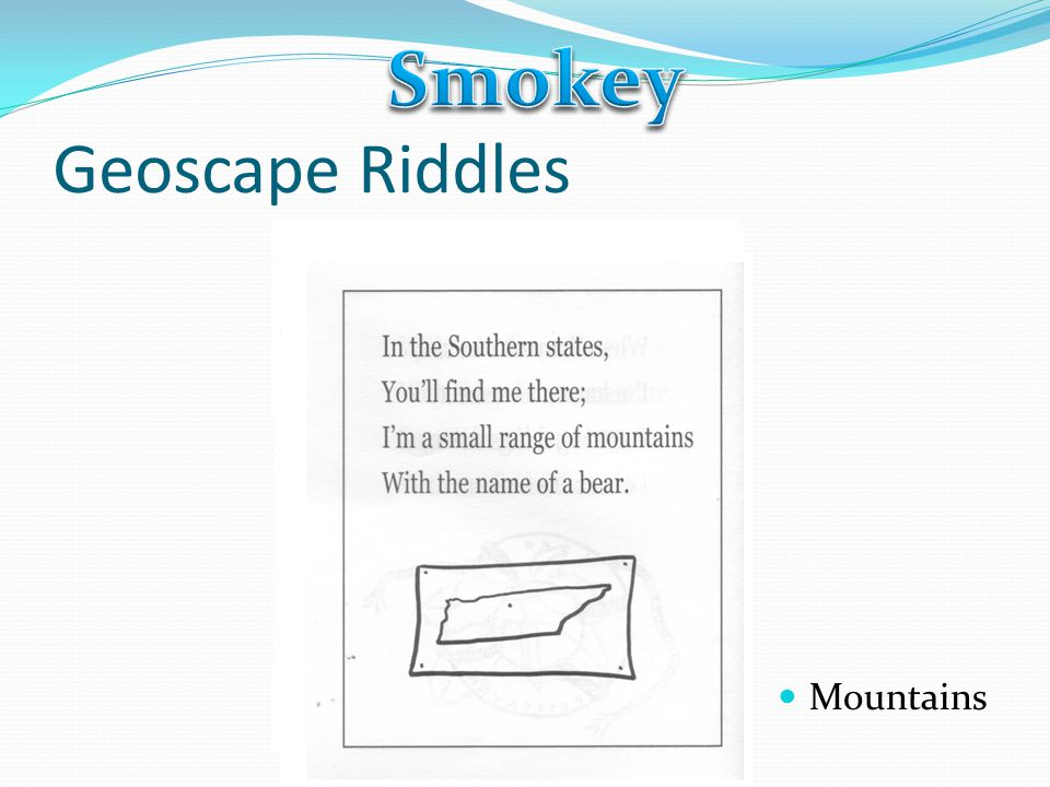 Smokey Geoscape Riddles Mountains