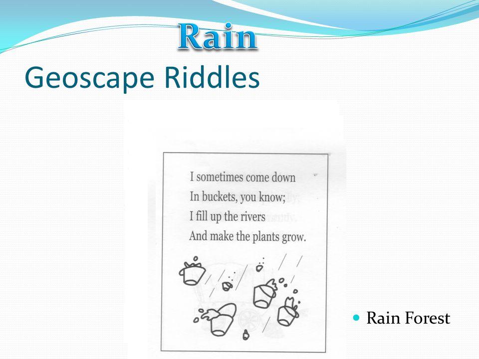 Rain Geoscape Riddles Rain Forest