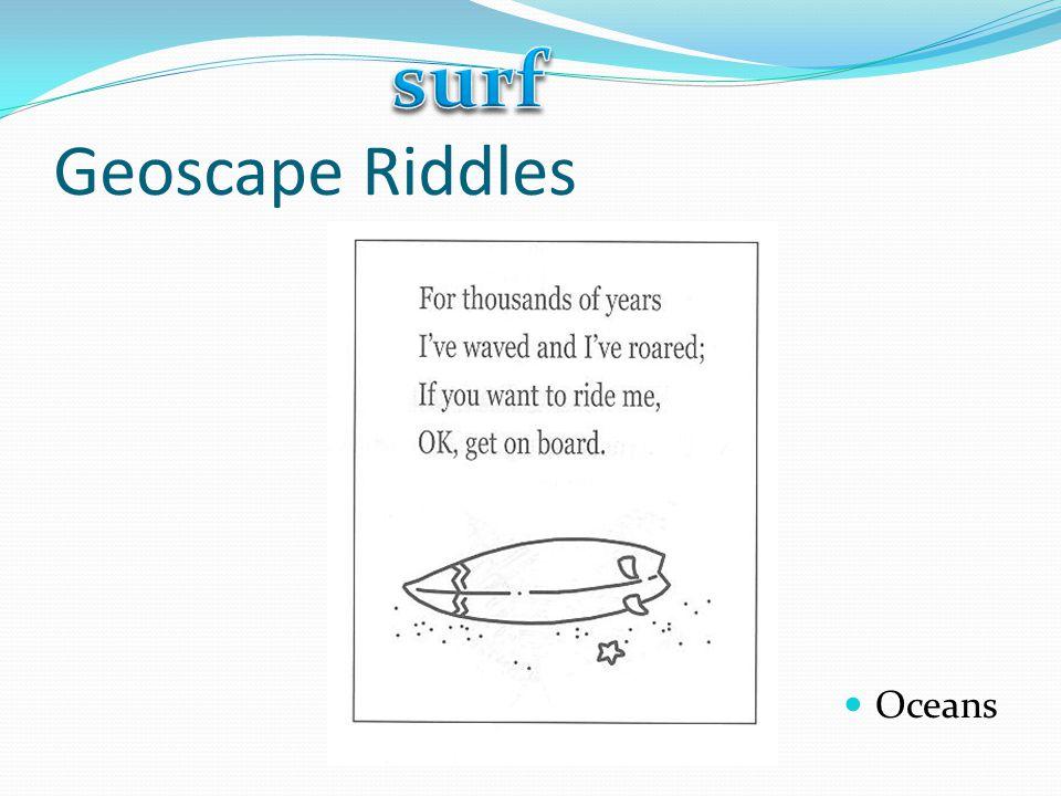 surf Geoscape Riddles Oceans