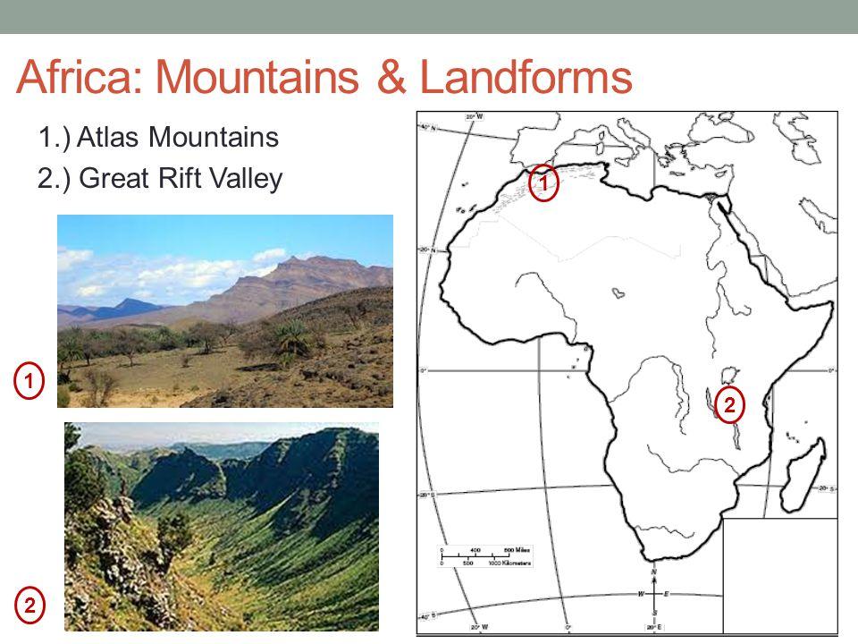 Africa: Mountains & Landforms