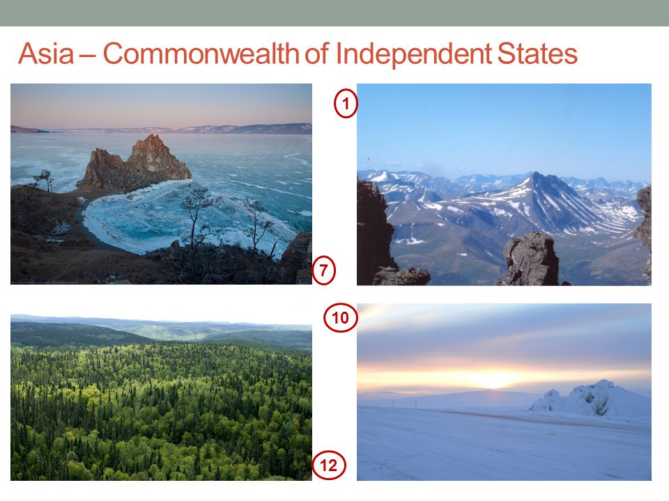 Asia – Commonwealth of Independent States
