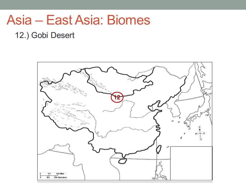 Asia – East Asia: Biomes