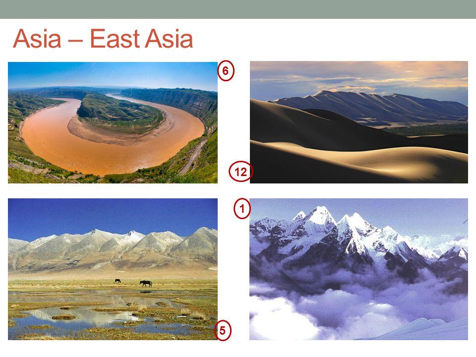 Asia – East Asia 6 12 1 5