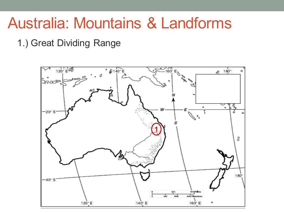 Australia: Mountains & Landforms