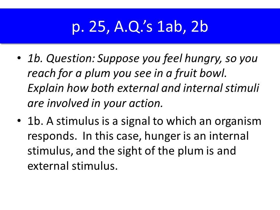p. 25, A.Q.'s 1ab, 2b