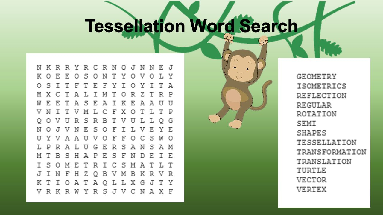 Tessellation Word Search