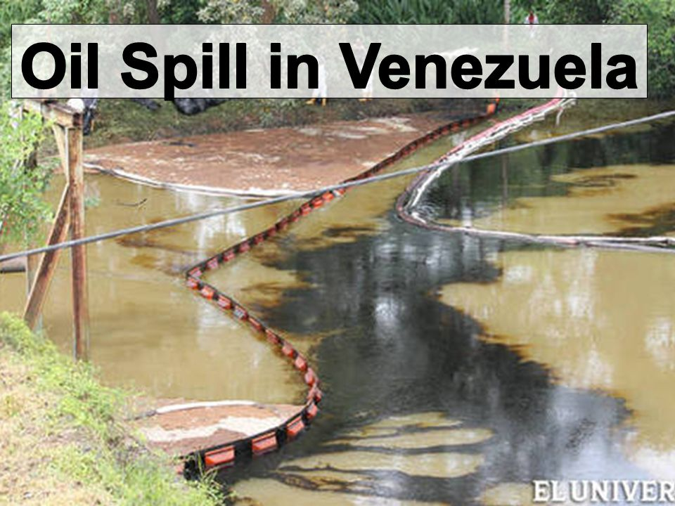 Oil Spill in Venezuela