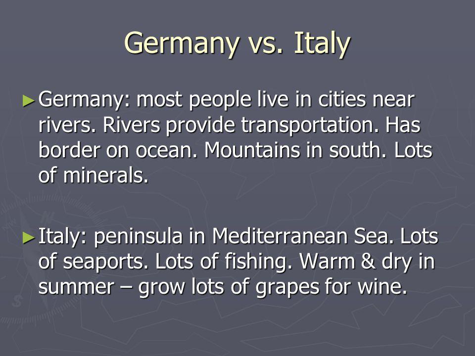Germany vs. Italy