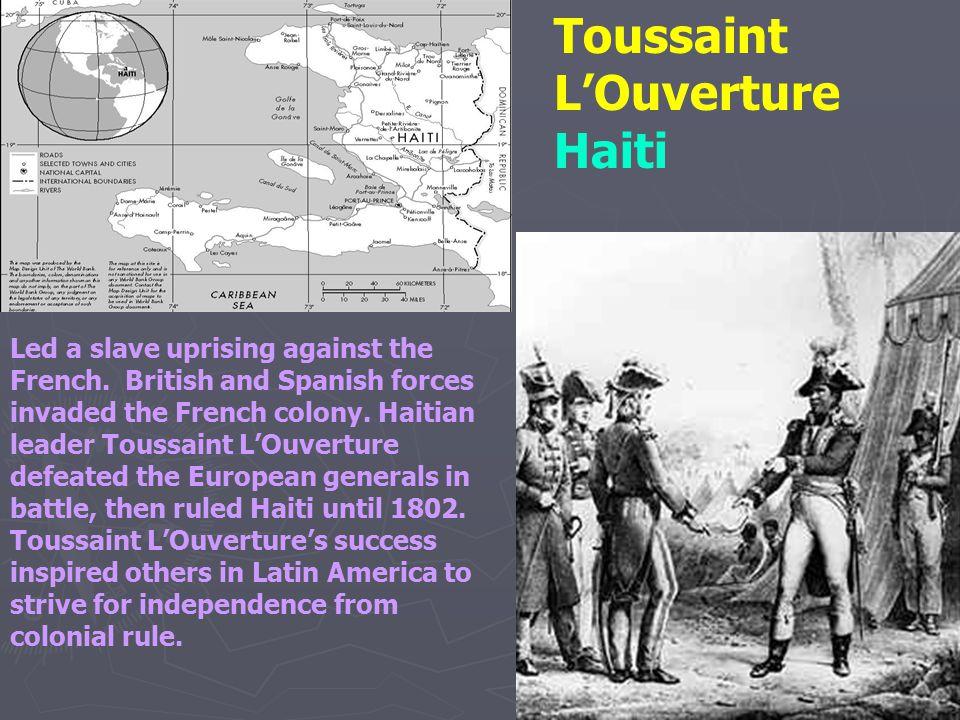 Toussaint L'Ouverture Haiti