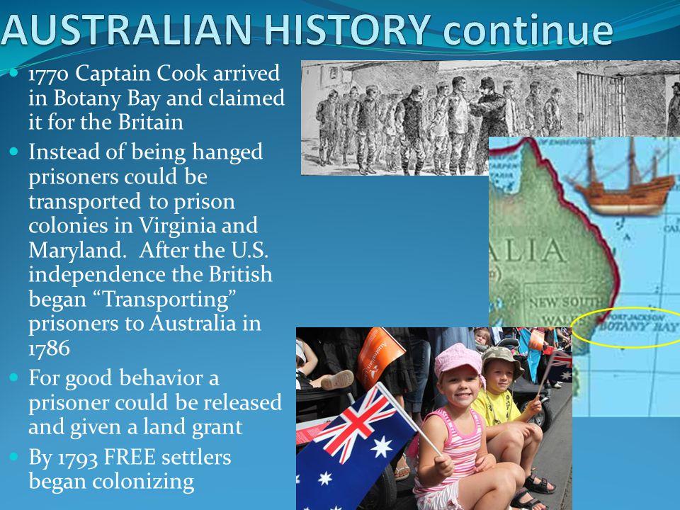 AUSTRALIAN HISTORY continue