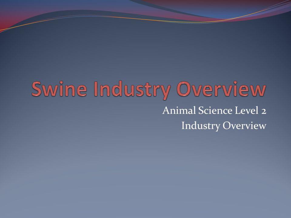 Swine Industry Overview