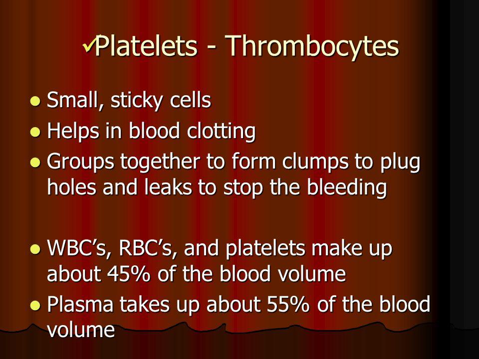 Platelets - Thrombocytes