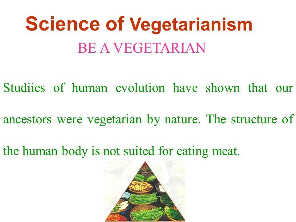 Science of Vegetarianism