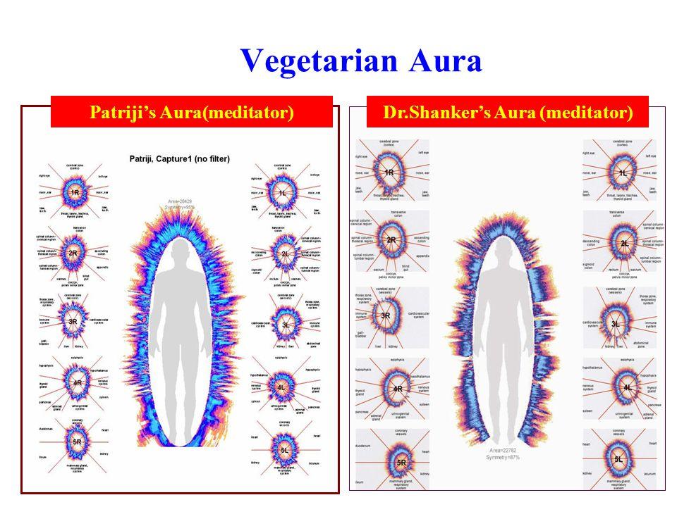Patriji's Aura(meditator) Dr.Shanker's Aura (meditator)