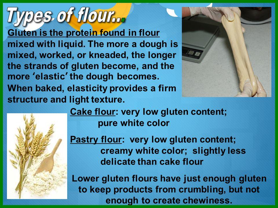 Types of flour...