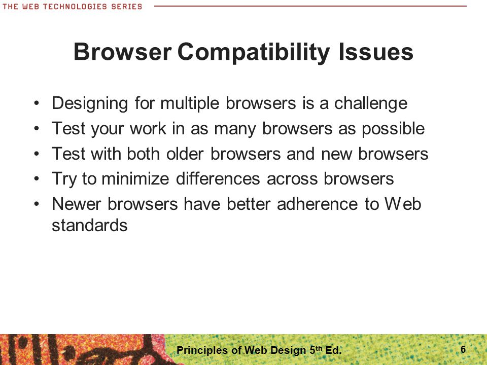 Browser Compatibility Issues