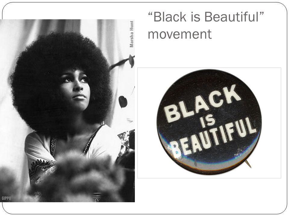 Black is Beautiful movement