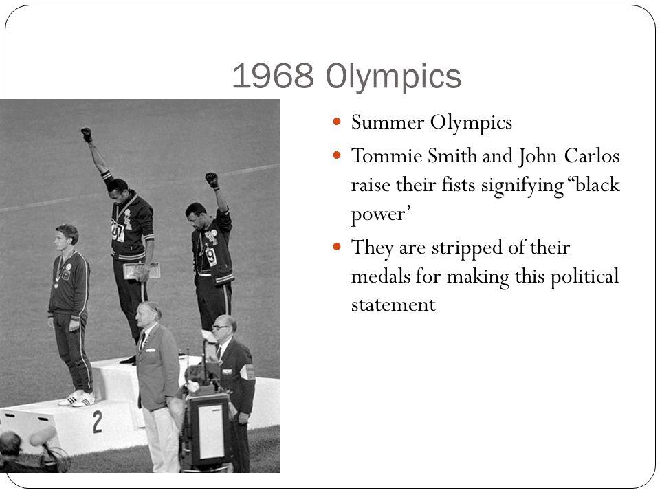 1968 Olympics Summer Olympics