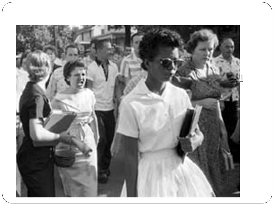 Who are we We challenged the segregation laws in Arkansas.